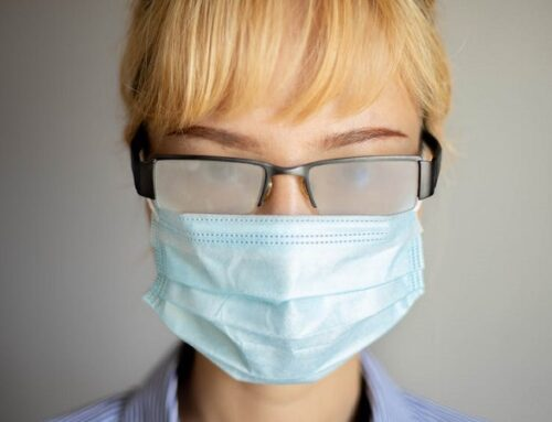 Ξηροφθαλμία λόγω χρήσης της μάσκας